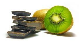 Kiwi del chocolate Fotos de archivo libres de regalías