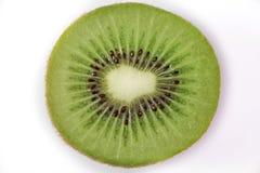 Kiwi del primer en el fondo blanco Imagen de archivo libre de regalías