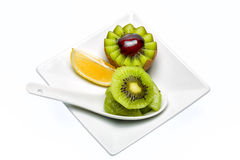 Kiwi dessert. Kiwi. A great healthy fruit full of vitamins Royalty Free Stock Images