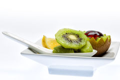 Kiwi dessert. Kiwi. A great healthy fruit full of vitamins Royalty Free Stock Photos
