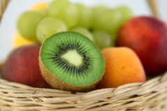 Kiwi detail royalty free stock photography