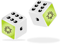 Kiwi Dice Stock Images