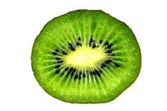Kiwi die in de helft wordt gesneden Royalty-vrije Stock Foto's