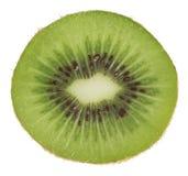 Kiwi die op wit wordt geïsoleerde stock fotografie