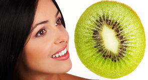 Kiwi diet Royalty Free Stock Images