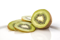 Kiwi on dish Royalty Free Stock Image