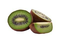 Kiwi divisé en deux Photographie stock