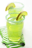 Kiwi drink. Or juice, depth of focus is very shallow Stock Photo