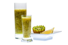 Kiwi drink. Kiwi. A great healthy fruit full of vitamins Stock Photography