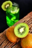 Kiwi drink Royalty Free Stock Images