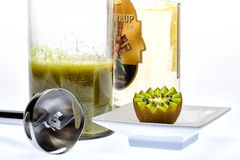Kiwi drink. Kiwi. A great healthy fruit full of vitamins Stock Images