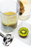 Kiwi drink. Kiwi. A great healthy fruit full of vitamins Stock Image