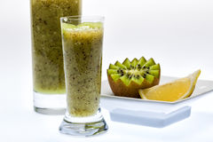 Kiwi drink. Kiwi. A great healthy fruit full of vitamins Stock Photos