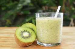 Kiwi drink Royalty Free Stock Photos