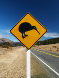 Kiwi drogowy znak Zdjęcia Royalty Free