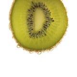 Kiwi e bolle Fotografie Stock Libere da Diritti
