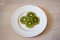 Kiwi eating Royalty Free Stock Photos