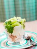 Kiwi Eton mess Royalty Free Stock Image