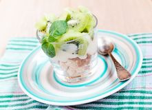 Kiwi Eton mess Royalty Free Stock Photo