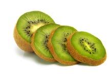 Kiwi frais découpé en tranches Photos stock