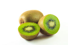 Kiwi fresh from farms Stock Photos