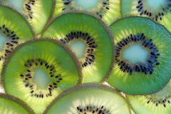 Kiwi fresh fruit Stock Images