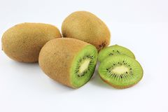 Kiwi. Fresh kiwi Fruit endemic New Zealand Royalty Free Stock Photos