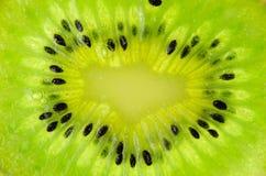 Kiwi fresh macro Stock Photography