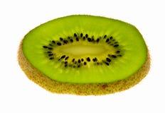 Kiwi-Frucht getrennt auf Weiß Stockbild