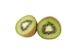 Kiwi fruit. Cut in two pieces Stock Photo