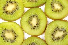 Kiwi fruit. Slice pieces of kiwi fruit background stock photography