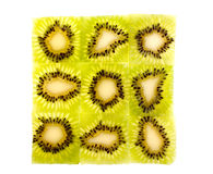 Kiwi fruit. As a background Royalty Free Stock Images