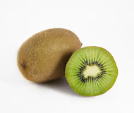 Kiwi fruit. On a white background Royalty Free Stock Images