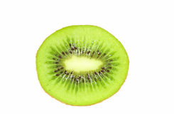 Kiwi Fruit. S scliced in Half / Cut Open ready to eat Royalty Free Stock Images