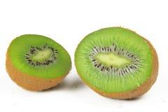 Kiwi fruit. On white background Stock Image
