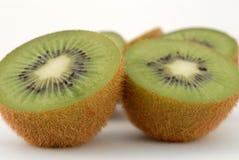 Kiwi fruit. Close-up of fresh cut sliced kiwi fruit Stock Photography