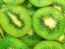 Kiwi fruit. Delicious and juicy slices of kiwi fruit Royalty Free Stock Images