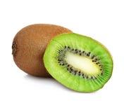 Kiwi fruit. On a white background Stock Photo
