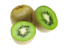 Kiwi fruit. (chinese gooseberry) in detail Stock Photography