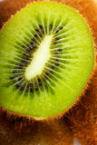 Kiwi fruit. Macro view of a kiwi fruit Royalty Free Stock Images