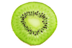Kiwi fruit. Isolated white background Stock Images