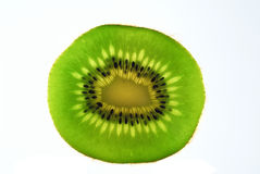 Kiwi Fruit. Delicious looking piece of Kiwi Fruit, close-up Stock Photo