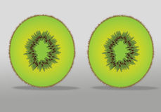 Kiwi Fruit Royalty Illustrazione gratis