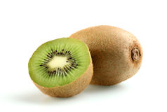 Kiwi fruit. On white background Stock Images