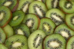 Kiwi fruit. Background Stock Image
