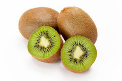 Kiwi Fruit (Actinidia deliciosa) Stock Photos