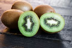 Kiwi Fruit Arrangement Immagine Stock