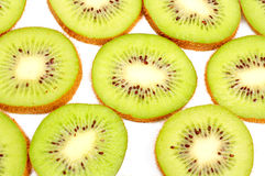 Kiwi fruit background Stock Photography