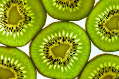Kiwi fruit background. Kiwi fruit with white background Stock Image
