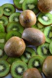 Kiwi fruit background. Stock Photography
